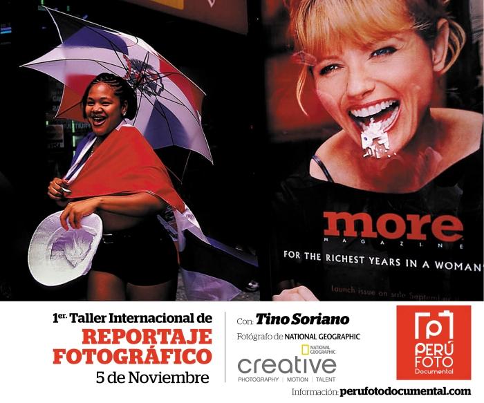 Con: Tino Soriano Fotógrafo de la National Geographic