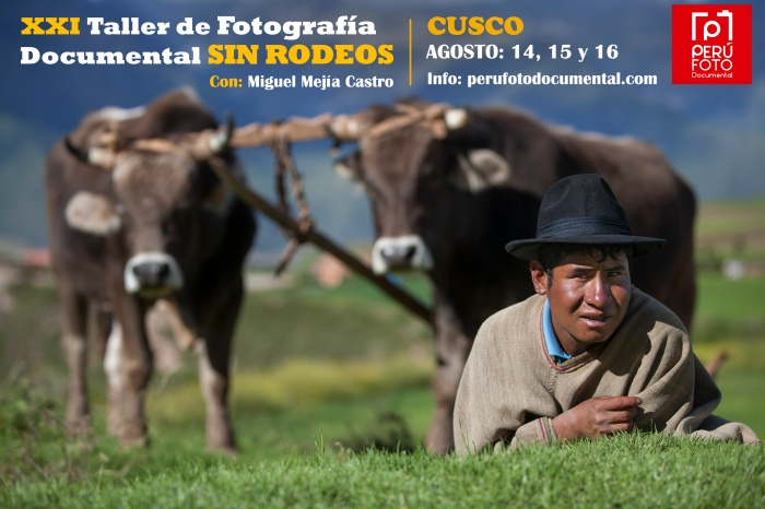 TALLER FOTOGRAFIA DOCUMENTAL CUSCO